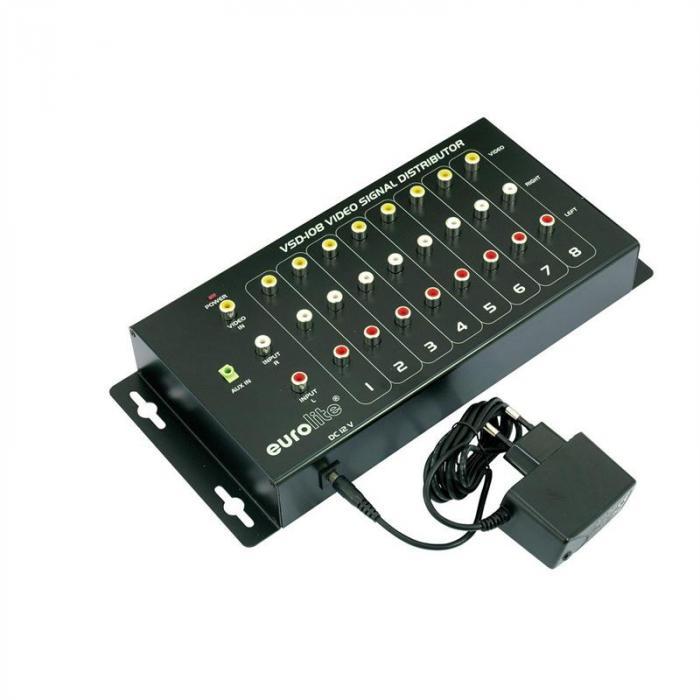 VSD-108 AV-Verteiler