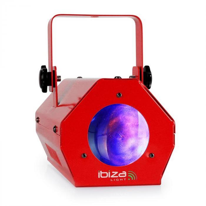 LCM003LED Moonflower RGBWA Musiksteuerung rot