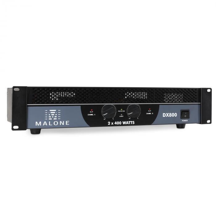 DX800 PA-Endstufe Verstärker 800W brückbar