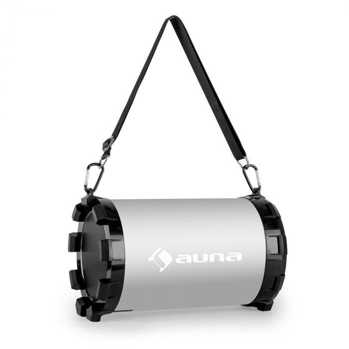 Dr. Silver Boom 2.1-Bluetooth-Lautsprecher 20W max. USB SD AUX Akku