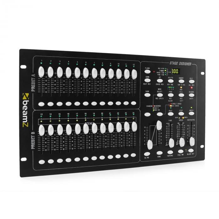 DMX-024PRO 24-Kanal-DMX-Controller Lichtsteuerpult
