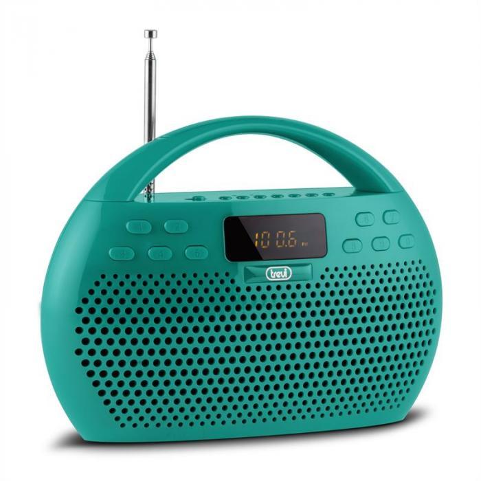 KB 308 BT Radio Digital Boombox Bluetooth USB microSD grün