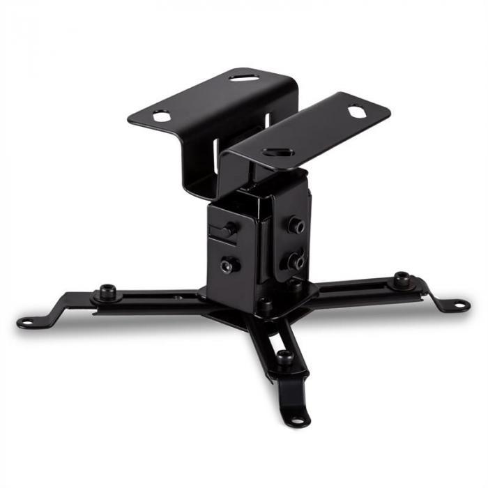 Ceiling Bracket Universal-Projektor-Deckenhalterung schwarz