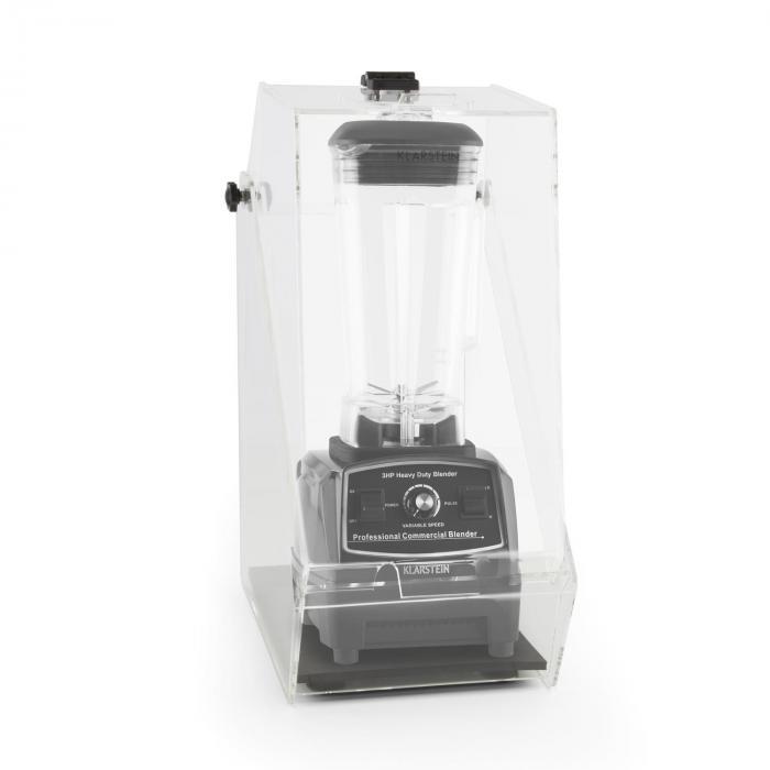 Herakles 2G Standmixer Schwarz mit Cover 1200W 1,6 PS 2 Liter BPA-frei