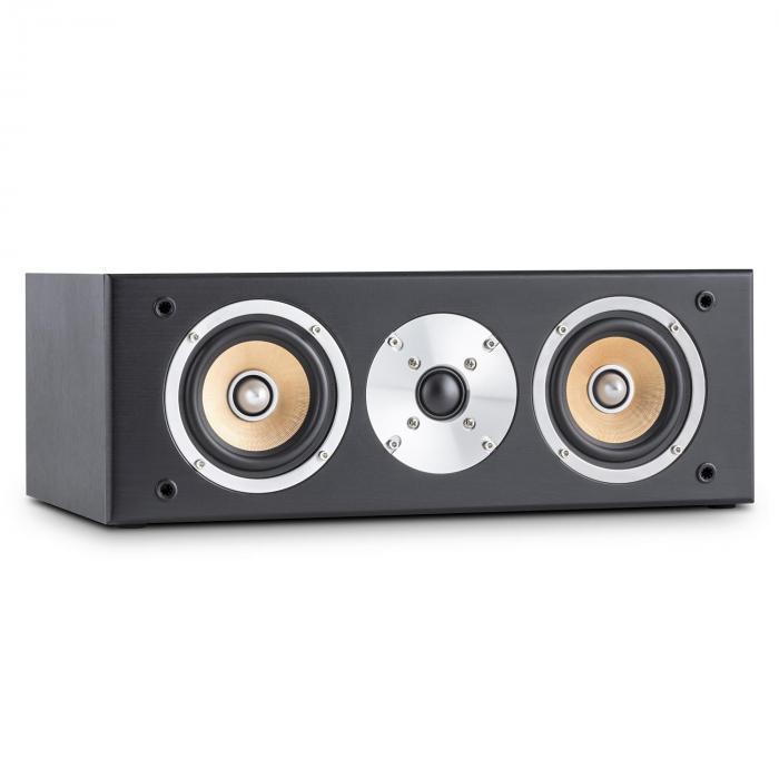 Linie 501 CS-BK Center-Lautsprecher 120W passiv schwarz