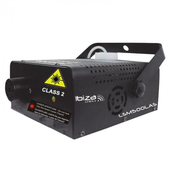 LSM500LAS Nebelmaschine Firefly Laser 500W 0,5Lt 75 m³/min inkl. Bügel