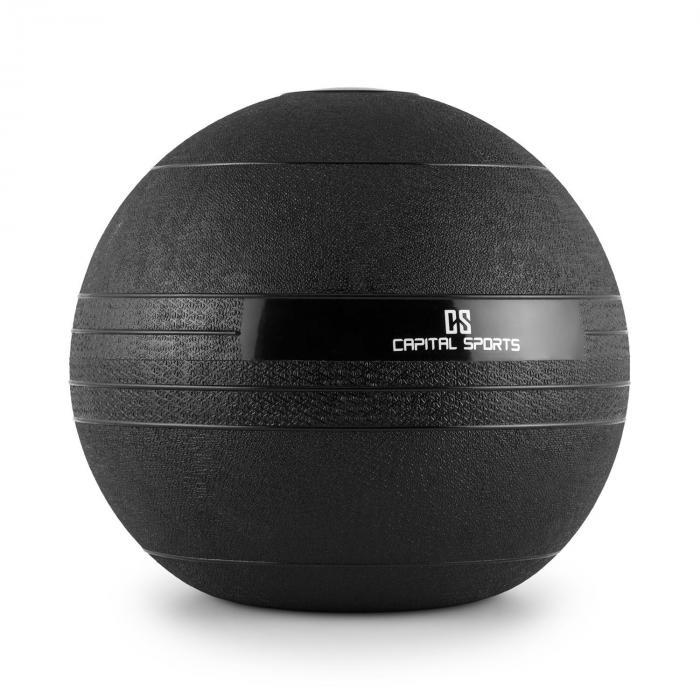 Groundcracker Slamball schwarz Gummi 15kg