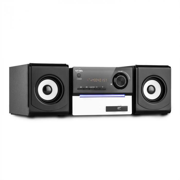 CH11CD-BTH Audiosystem Bluetooth CD USB SD MP3 UKW AUX Fernbedienung