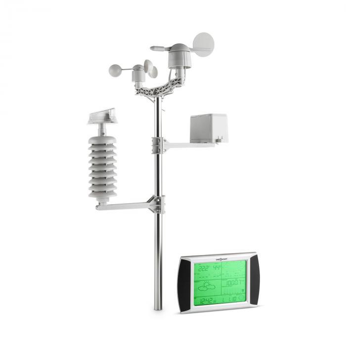 Beaufort Wetterstation Funk 100m LCD-Touch-Disp...