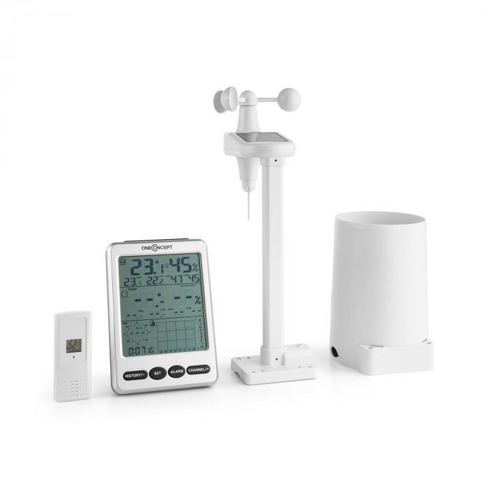 Landvik Wetterstation Funk 100m LCD-Display