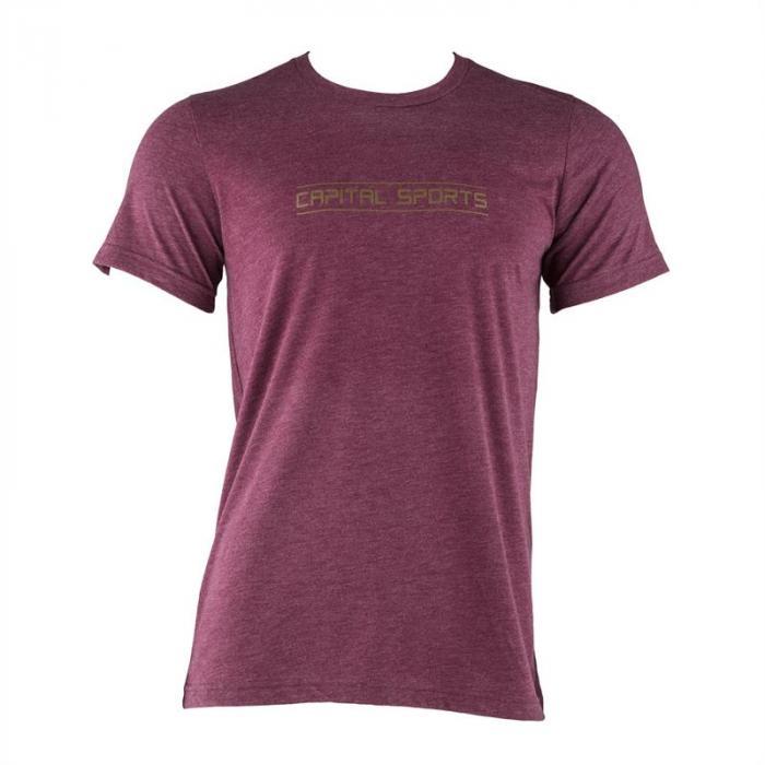 Trainings-T-Shirt für Männer Size XL Maroon