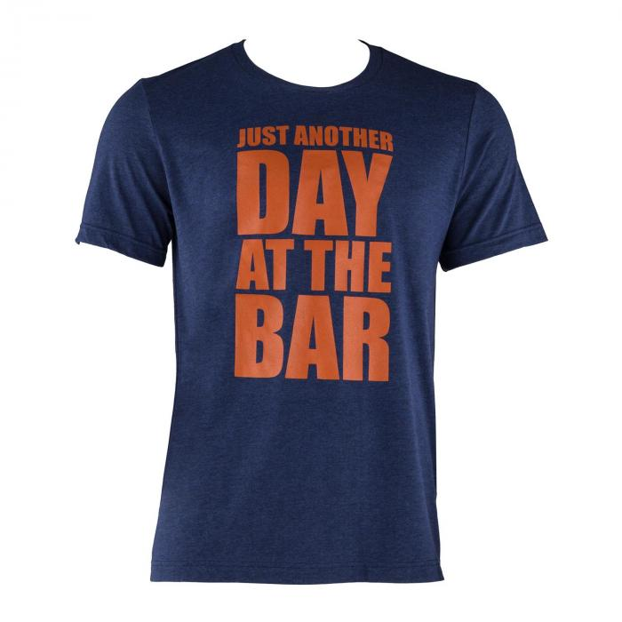 Trainings-T-Shirt für Männer Size L Navy