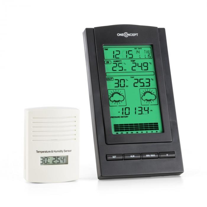 Isfjorden Wetterstation Alarm Batteriebetrieb 1...