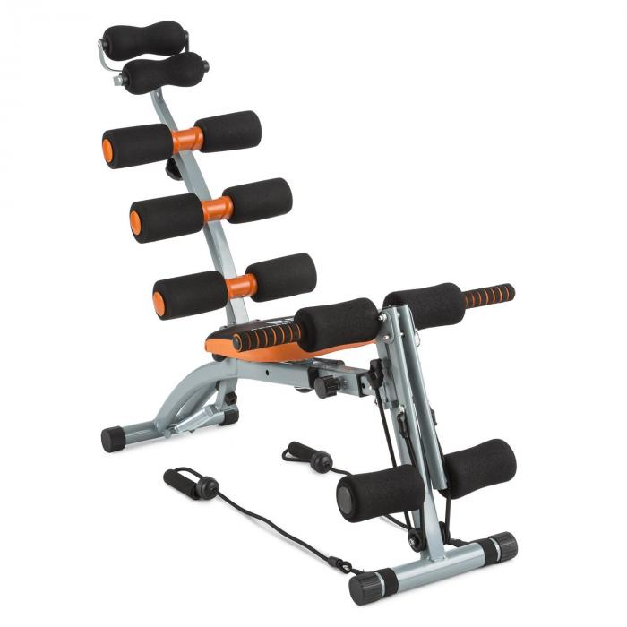 Sixish Core Bauchtrainer Body Trainer orange/schwarz