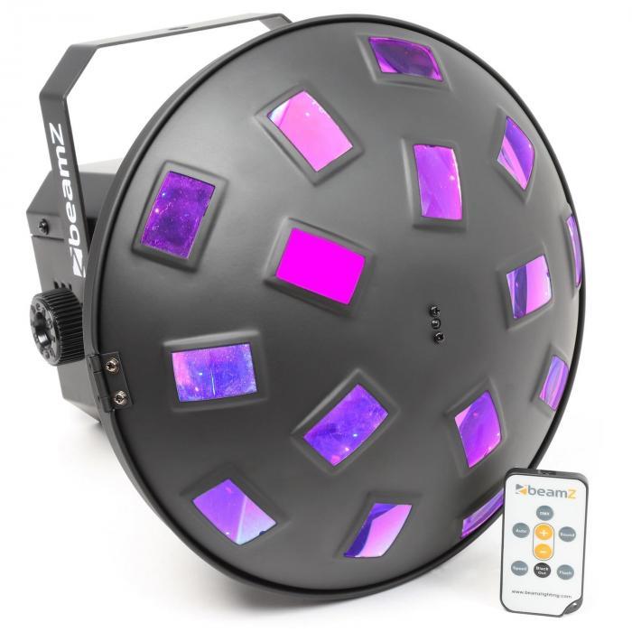 Mushroom II 6x 3W RGBAWP LED