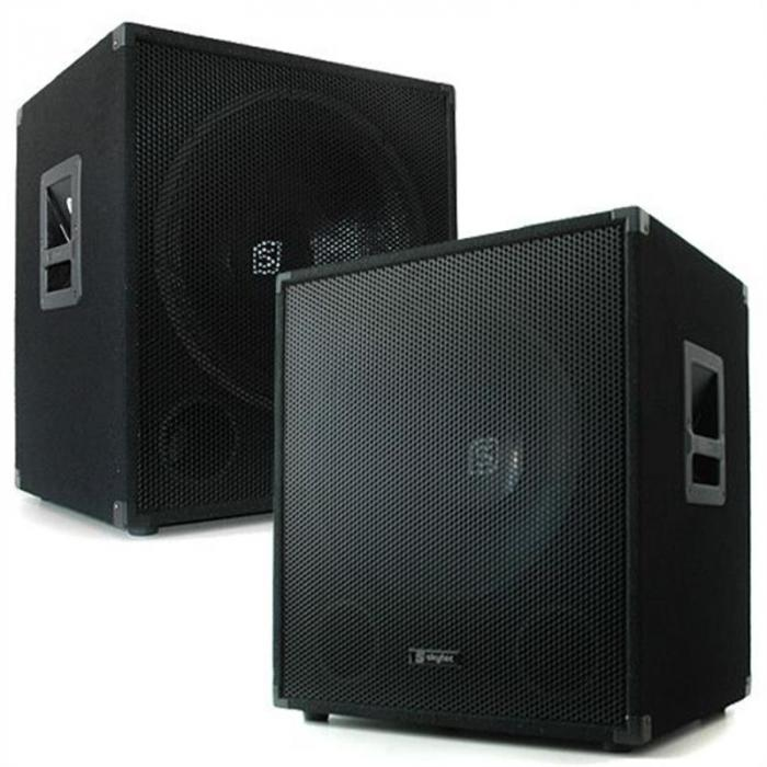 elektronik star de smw18 paar pa passiv subwoofer 1000 w. Black Bedroom Furniture Sets. Home Design Ideas