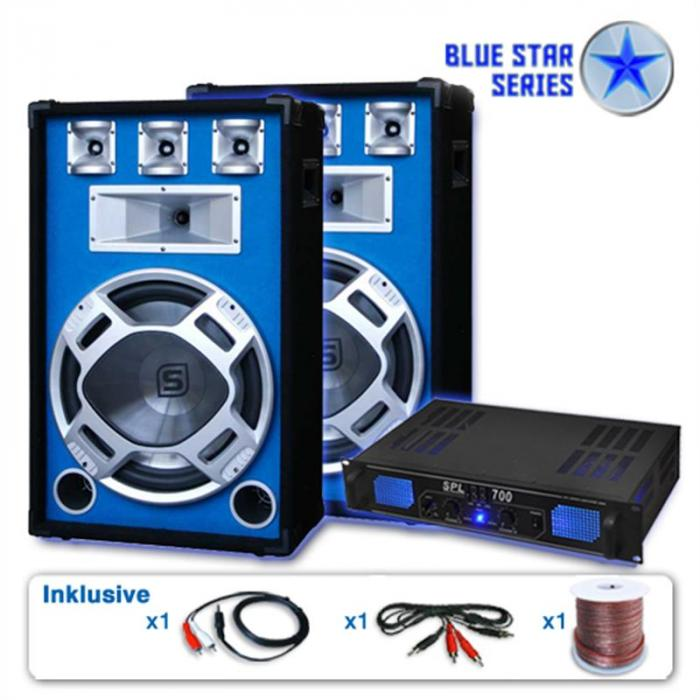 "PA Set Blue Star Series ""Beatstar"" 2000W"