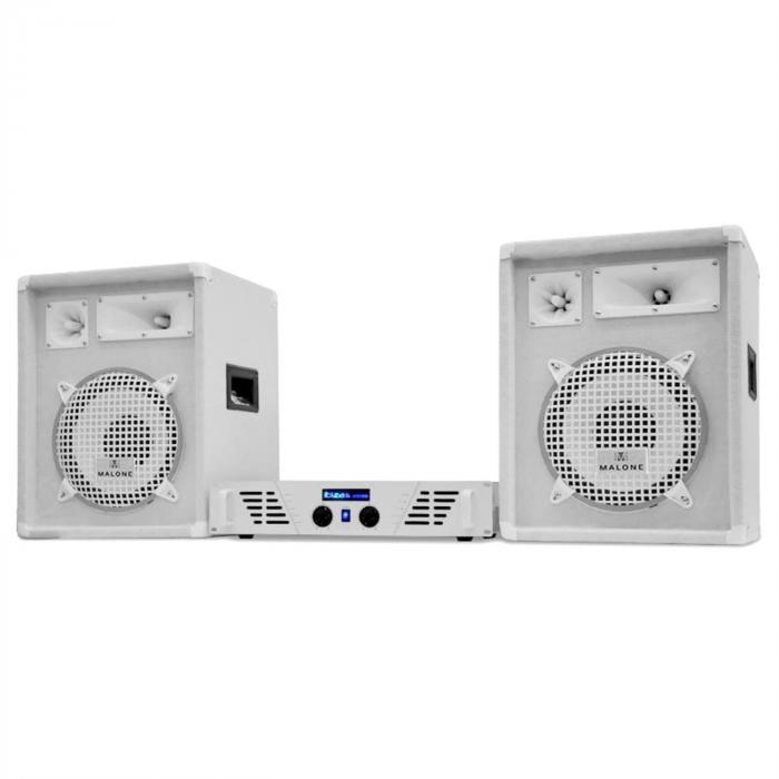 "DJ-PA Set White Star Series ""Arctic Storm"" 800W"