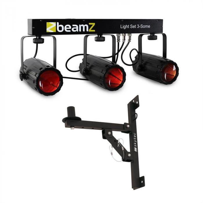 3 Some LED-Lichteffekt-Set 5-tlg. mit Wandhalterung