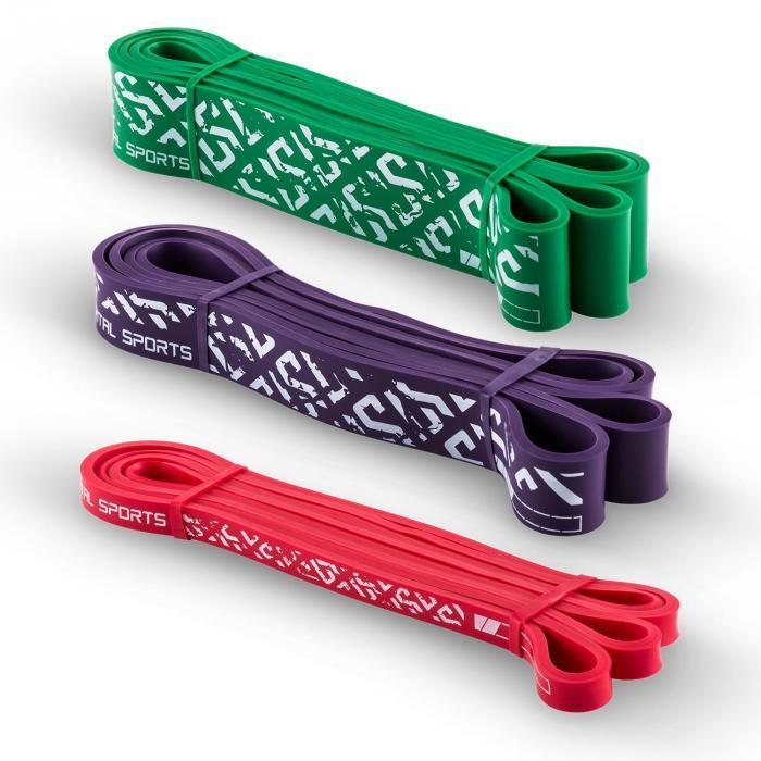 Resistor Set Klimmzugband Pullup Support 3 Stück Stärkegrad 2/5/7