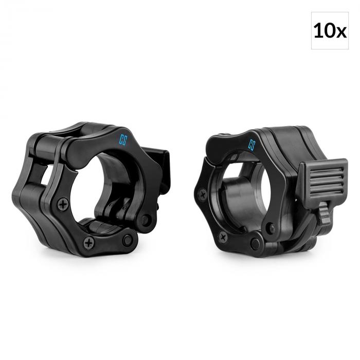 Chops Hantelstangen-Schnellverschluss Set 10 Paar 50mm schwarz