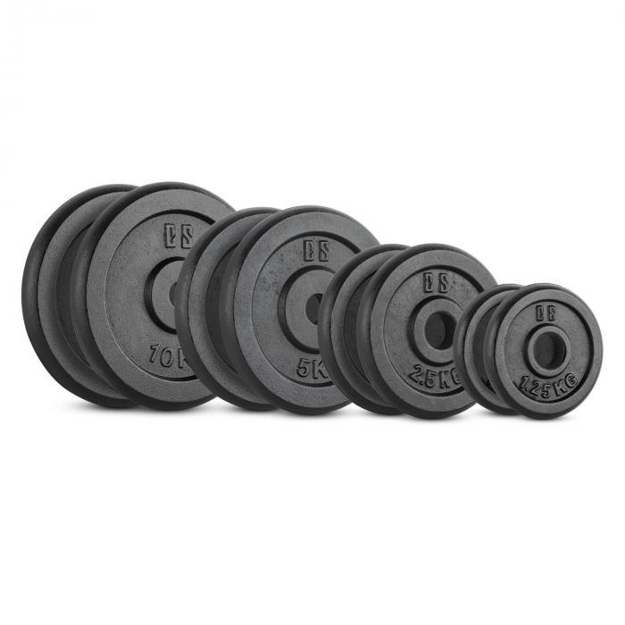 IPB 37,5 kg Set Gewichtsscheibenset 30MM