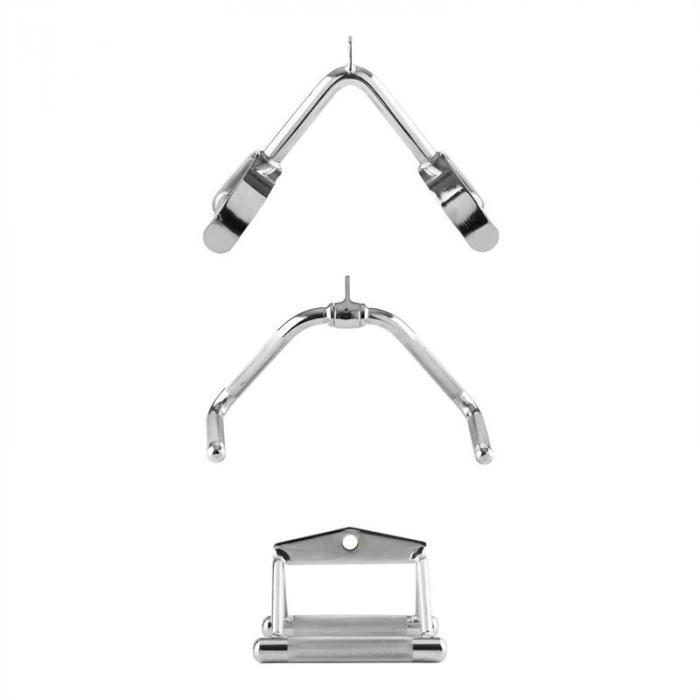 3pull Kabelzug Set Kabelzuganhang 3 verchromte Griffe aus Stahl