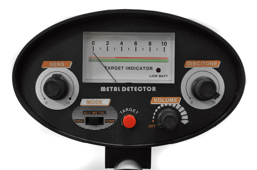 MD-062 Metalldetektor wasserdicht Comfort