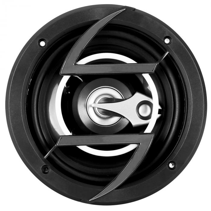 "Paar 16,5cm (6,5"") Car Lautsprecher Boxen 600Wmax. black"