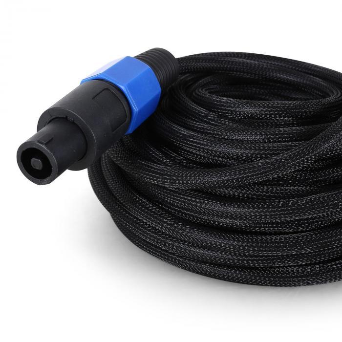 10 Meter PA Kabel - PA Stecker 2x1,5mm Anschluss