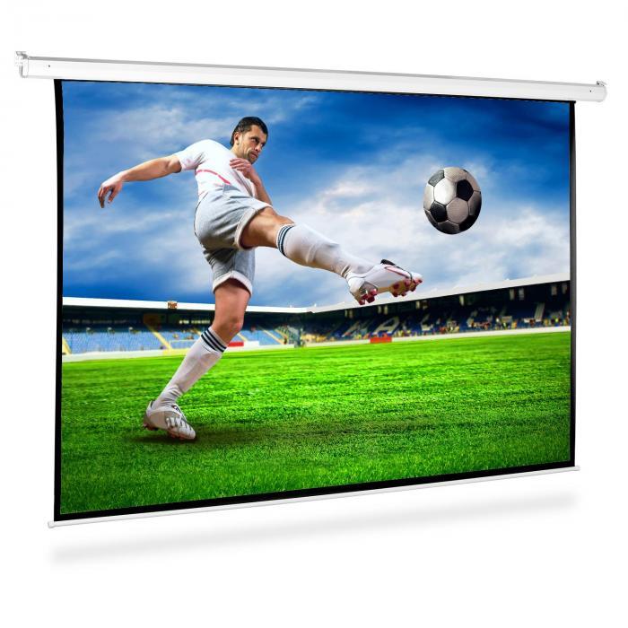 Beamer Leinwand 200x150cm Heimkino Projektor HDTV 4:3
