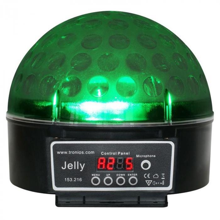 Magic Jelly DJ-Ball LED-Lichteffekt RGB DMX