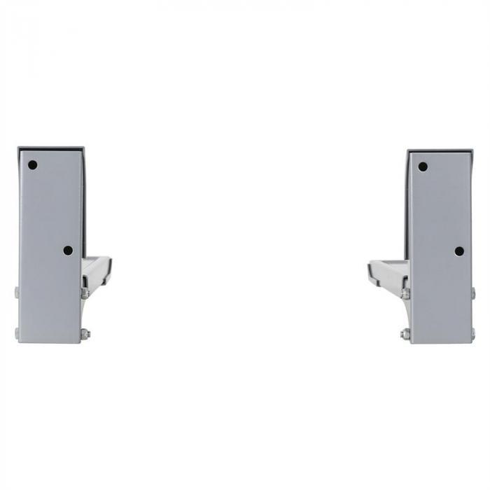 MB-4 Mikrowellenhalterung bis 35kg Mikrowellenhalter silber