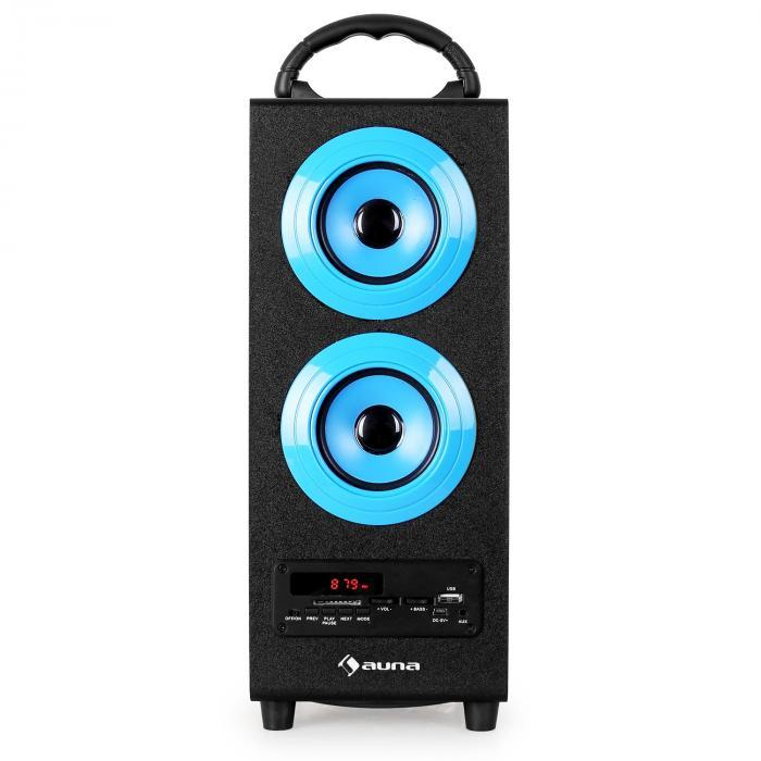 Beachboy Bluetooth-Lautsprecher USB SD AUX UKW/MW blau