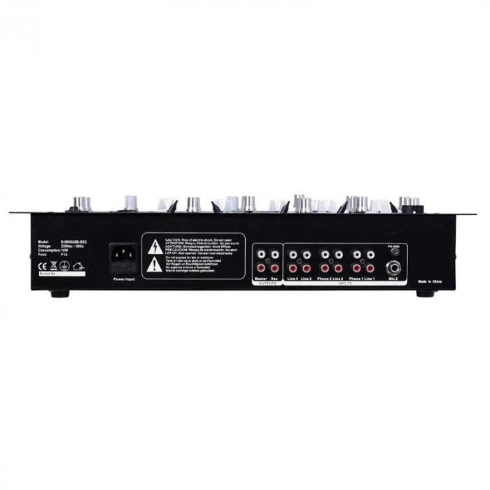 DJM90USB-BT 5-Kanal-Mischpult USB SD Bluetooth Rack