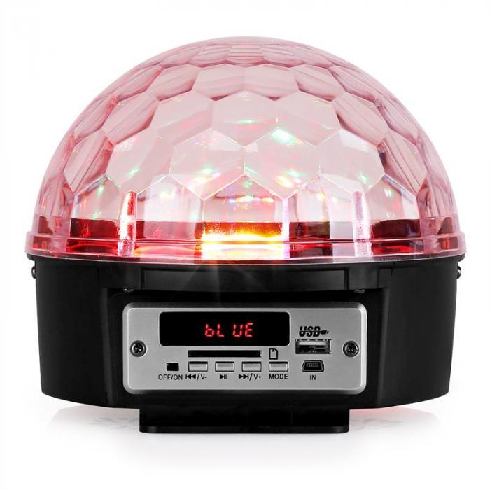 LL082LED-BT Astro 5 LED-Lichteffekt mit Stereo-Lautsprechern RGBWAP