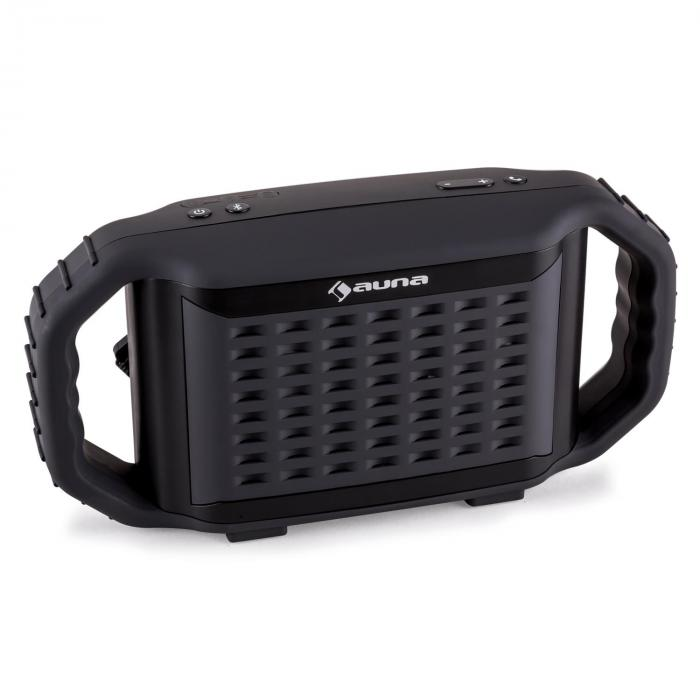 Poolboy Bluetooth-Lautsprecher Schwarz USB AUX Wasserdicht Stoßfest