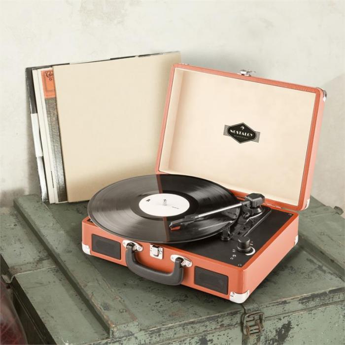 Peggy Sue Retro-Plattenspieler LP USB orange