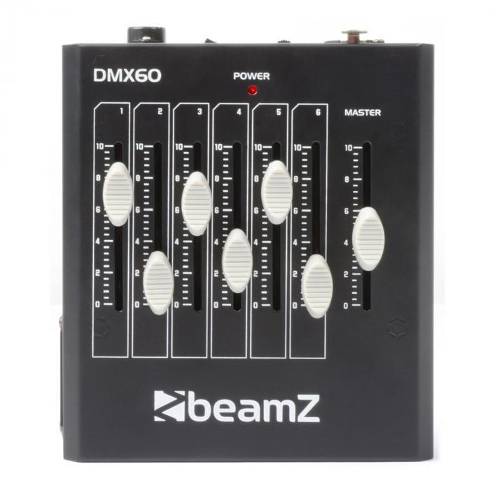 DMX60 6-Kanal-DMX-Licht-Controller XLR