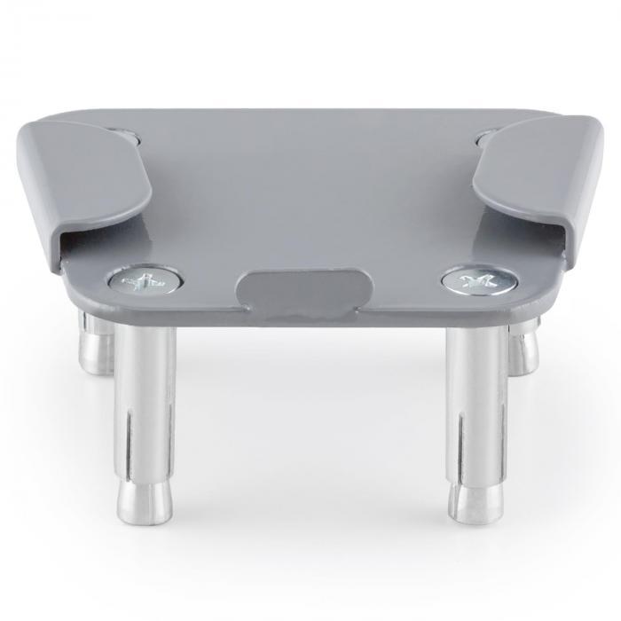 Bodenadapterplatte für Bari Seitenmarkise Stahl pulverbeschichtet