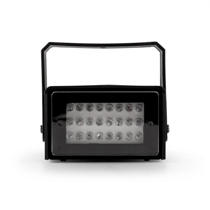 Mini Stroboskop 24 x LED 10W inkl. Bügel