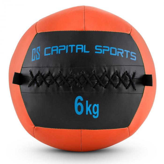 Epitomer Wall Ball 6kg Kunstleder orange