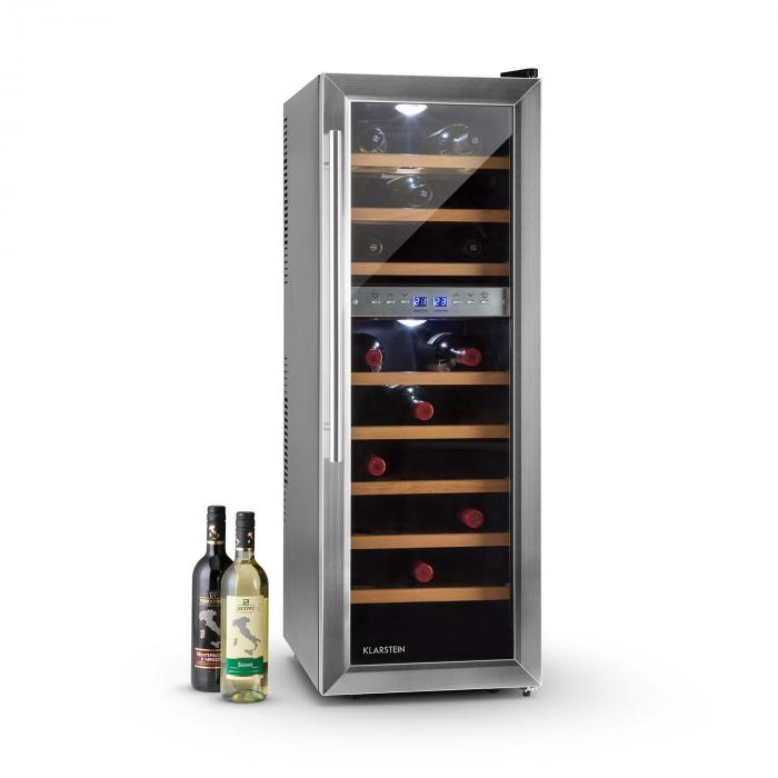 Reserva 27D Weinkühlschrank 2 Zonen 76 Liter 27 Flaschen
