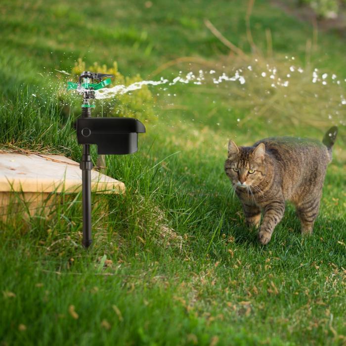 Vogelfrei Tiervertreiber Vogelscheuche Sprinkler Bewegungssensor