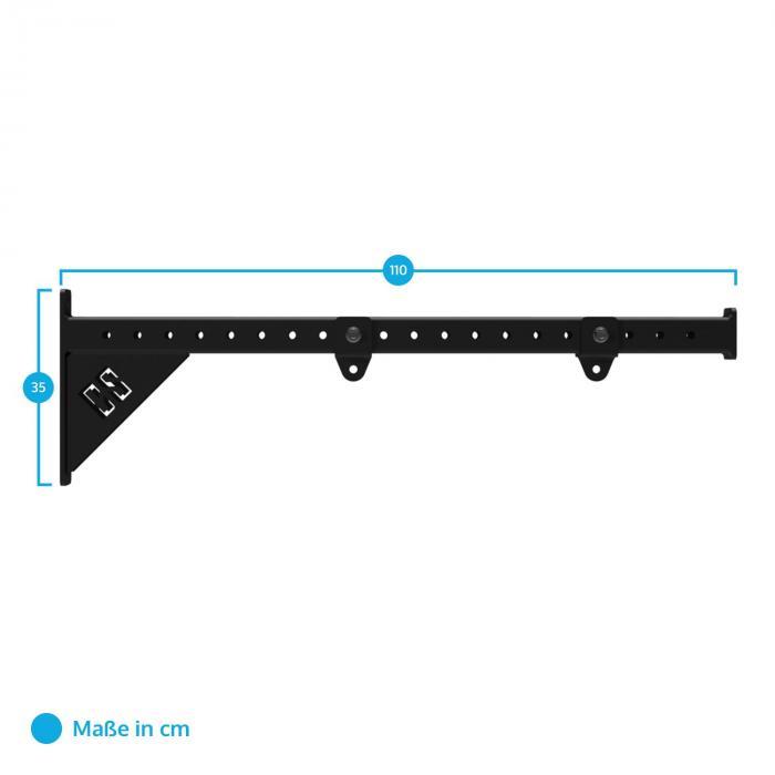 Ring Add Turnring-Aufhängung Halterung Arm max. 200kg Metall Rack