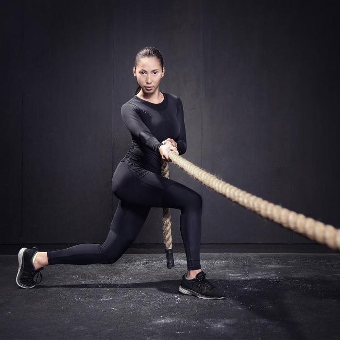 Power Rope Schwungtau 9 m 3,8 cm Ø Hanf