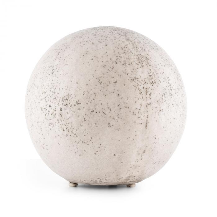 Gemstone XL Gartenleuchte 45 x 42 cm Naturstein-Optik