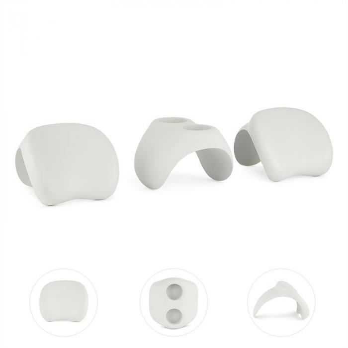 Face 2 Face Whirlpool-Zubehör 2x Kopfstütze Getränkehalter weiß