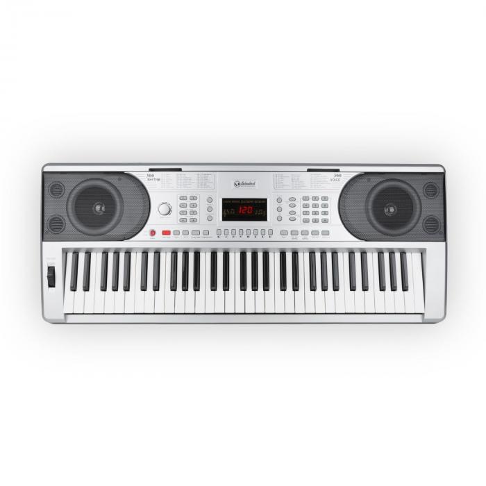 Etude 300 Keyboard 61 Tasten 300 Stimmen 300 Rhythmen 50 Demos silber