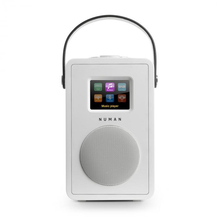 Mini Two Design-Internetradio WiFi DLNA Bluetooth DAB/DAB+ UKW Weiss